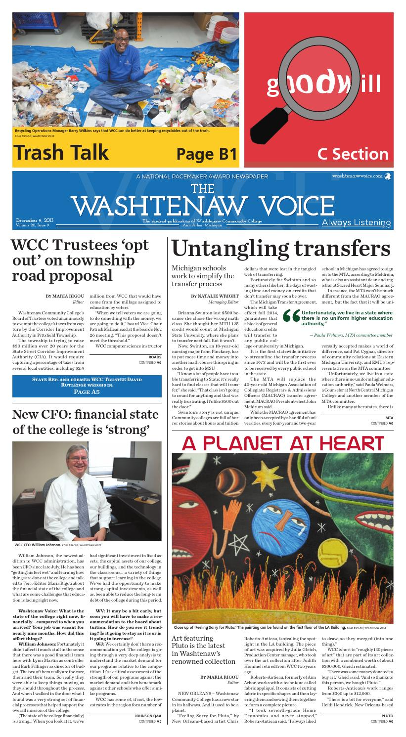 The Washtenaw Voice 12-09-13 by The Washtenaw Voice - issuu