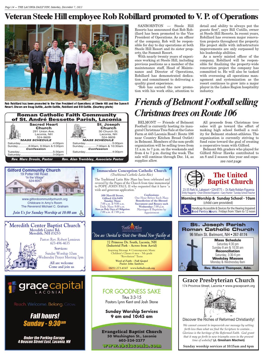 The Laconia Daily Sun December 7 2013 By Daily Sun Issuu