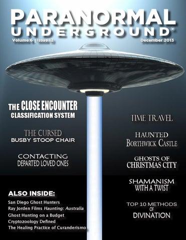 December 2013 Paranormal Underground
