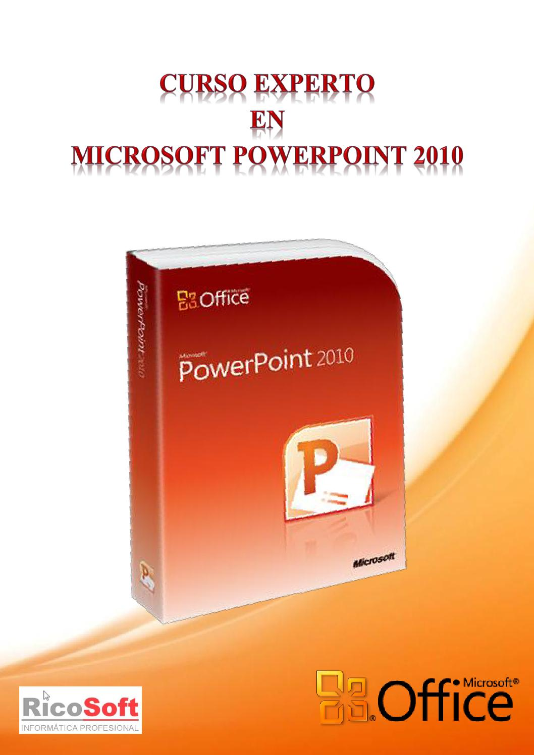Curso experto en powerpoint 2010 ricosoft by sopemu - issuu