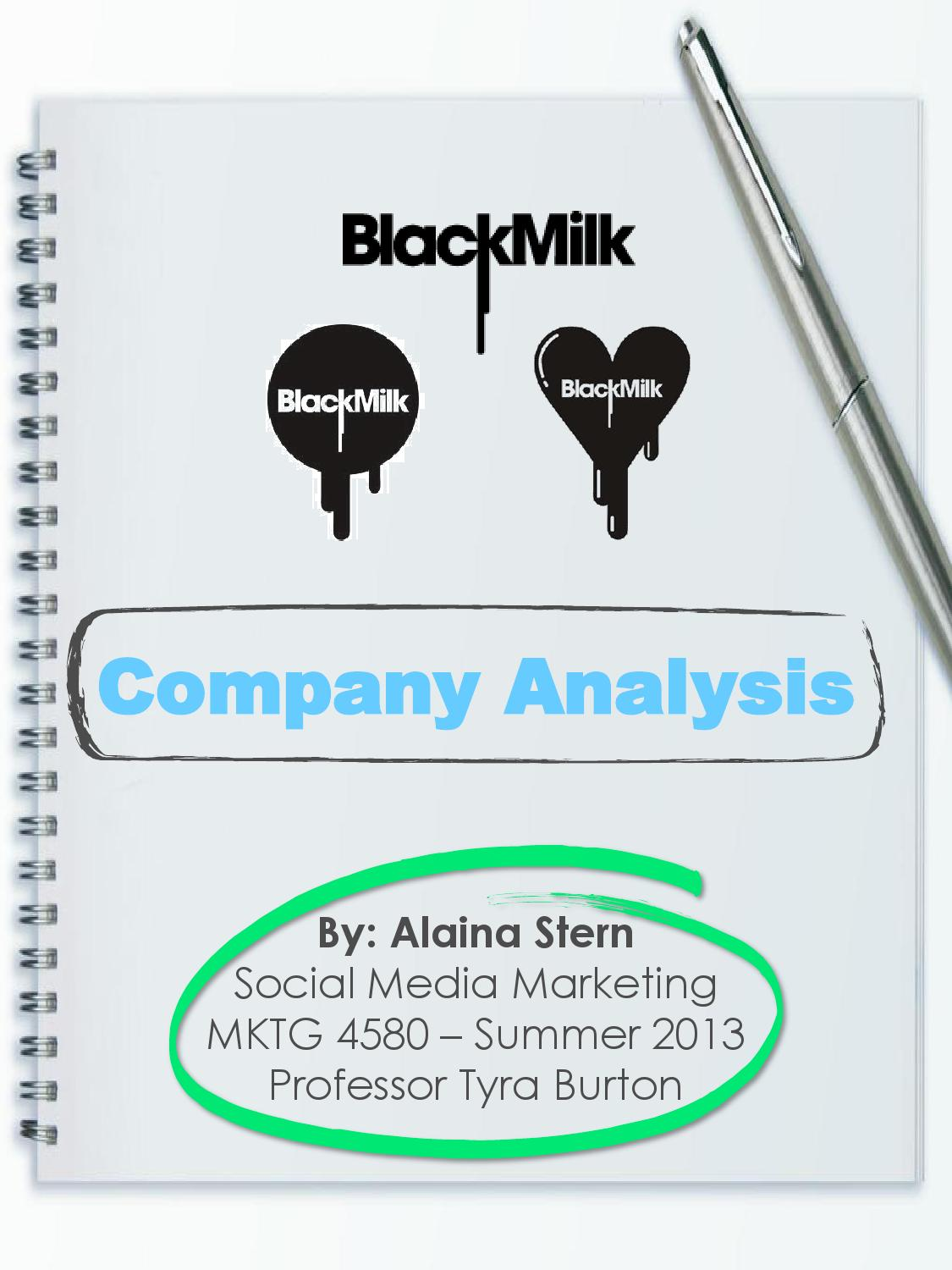 Black Milk Clothing: A Company Analysis By Alaina Stern   Issuu