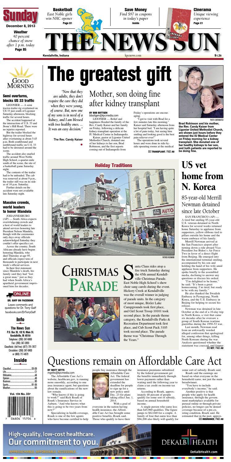 d335f804336 The News Sun – December 8