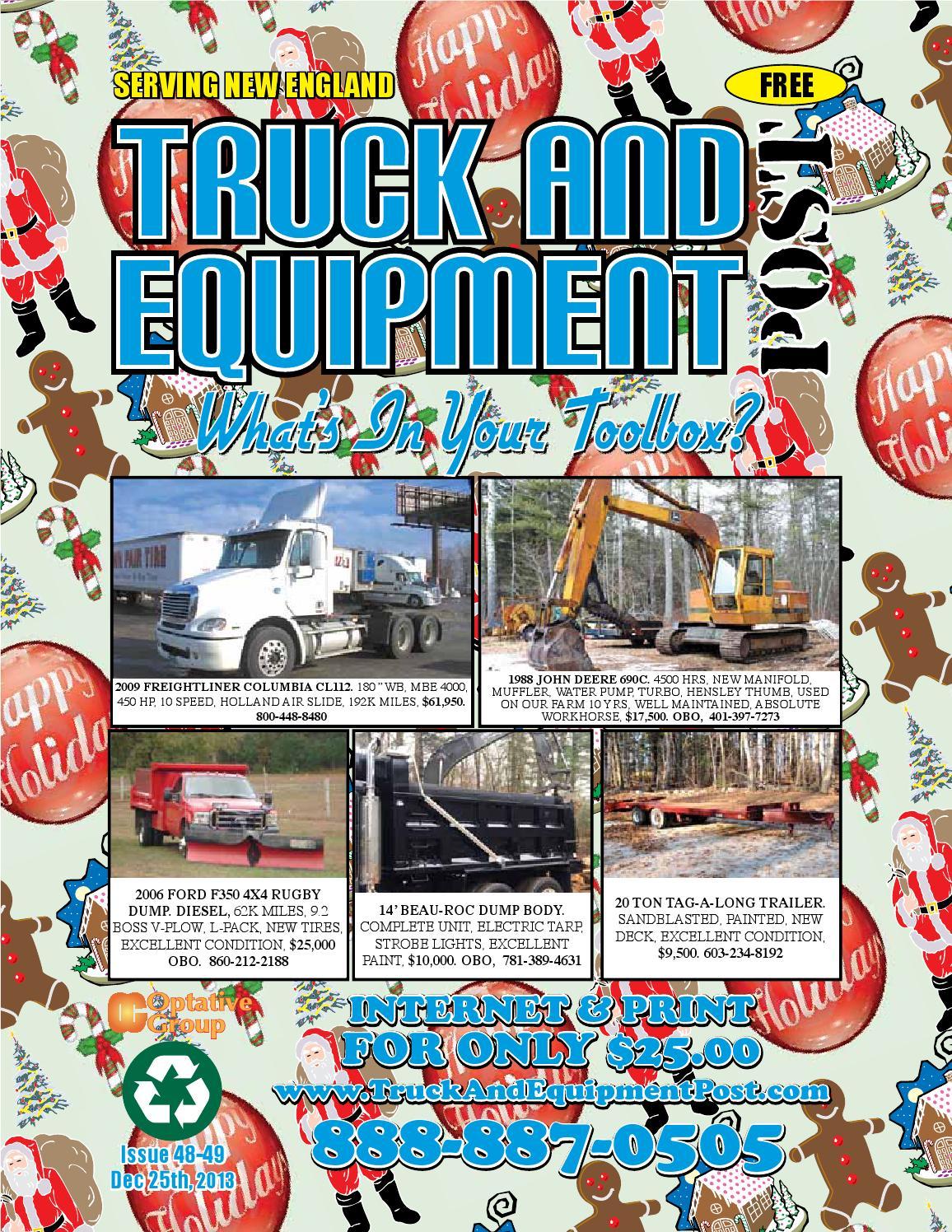 Truck Equipment Post 50 51 2013 By 1clickaway Issuu Pacar W900 Fuse Diagram 2001