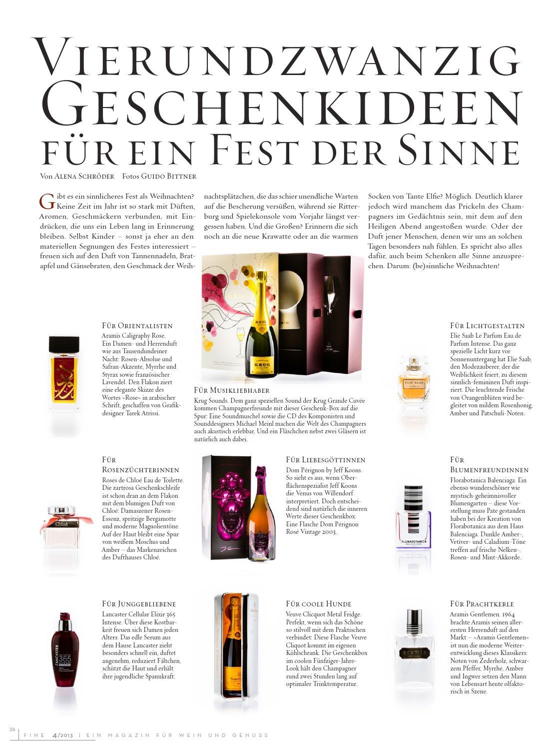 Fine Ein Magazin Für Wein Und Genuss 42013 By Fine Das