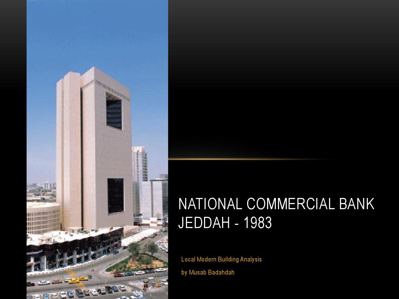 saudi pak commercial bank analysis An analysis of commercial banks' credit on economic growth in nigeria z yakubu and ay affoi department of economics, kaduna state college of education, gidan waya, kafanchan,.