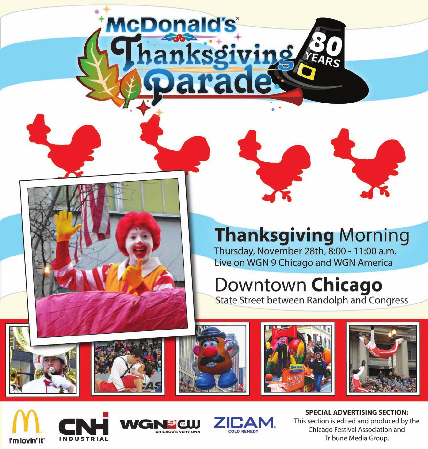 2013 Mcdonald S Thanksgiving Parade Special Section By Terrence Curtis Liggins Issuu