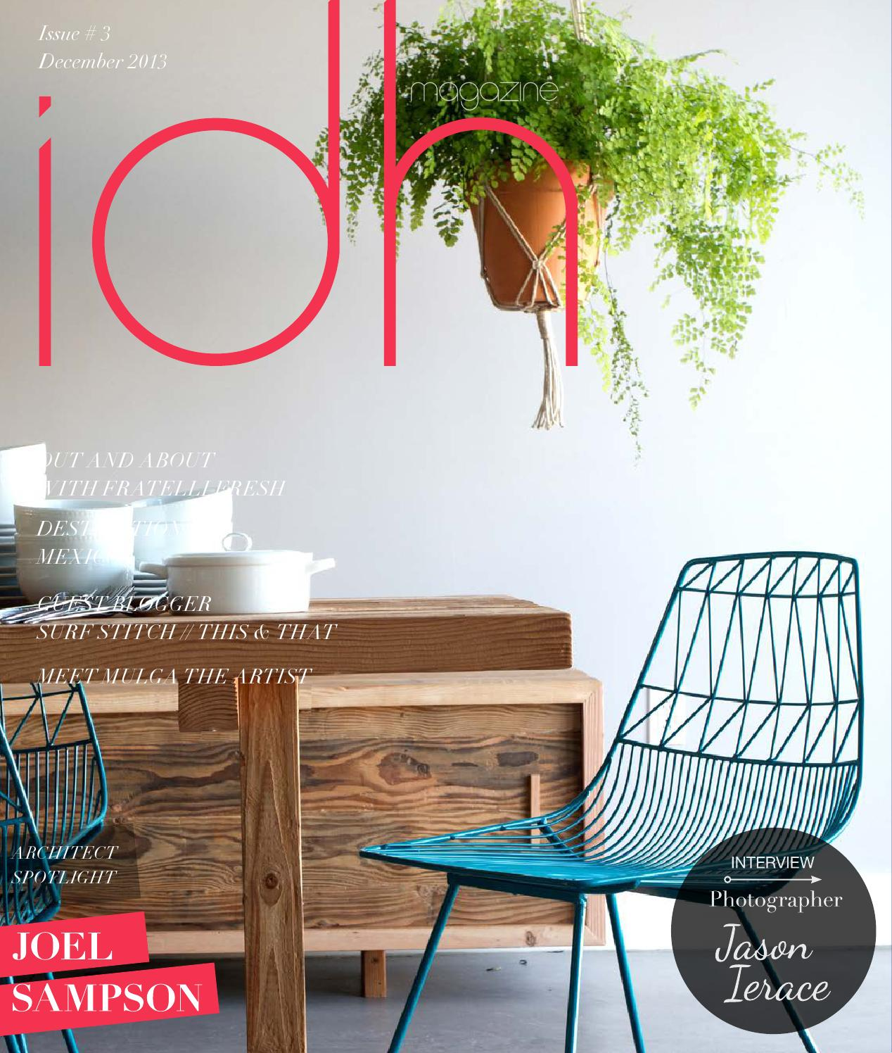 Idh magazine issue 3 by In A Designer Home - issuu