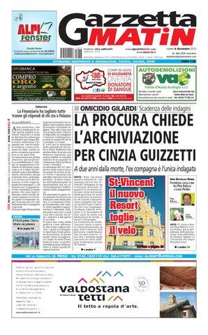 Gazzetta Matin del 09 dicembre 2013 by Luca Mercanti - issuu e29a75024b57