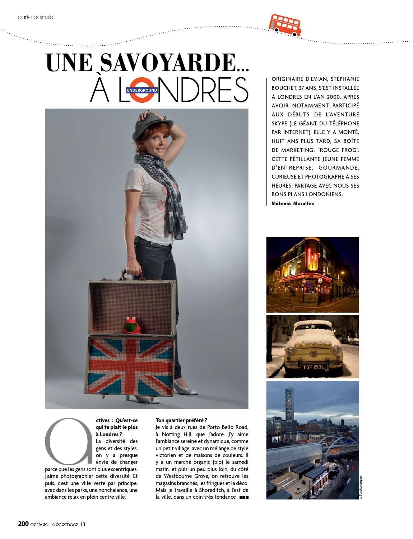 Actives magazine Décembre 2013 by Sopreda 2 issuu
