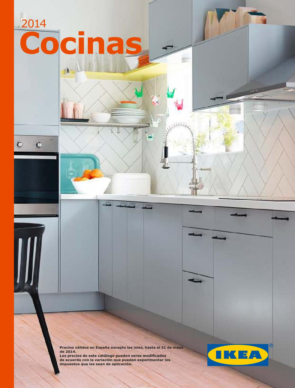 Ikea catálogo cocinas 2014 by SuperCatalogos.es - issuu