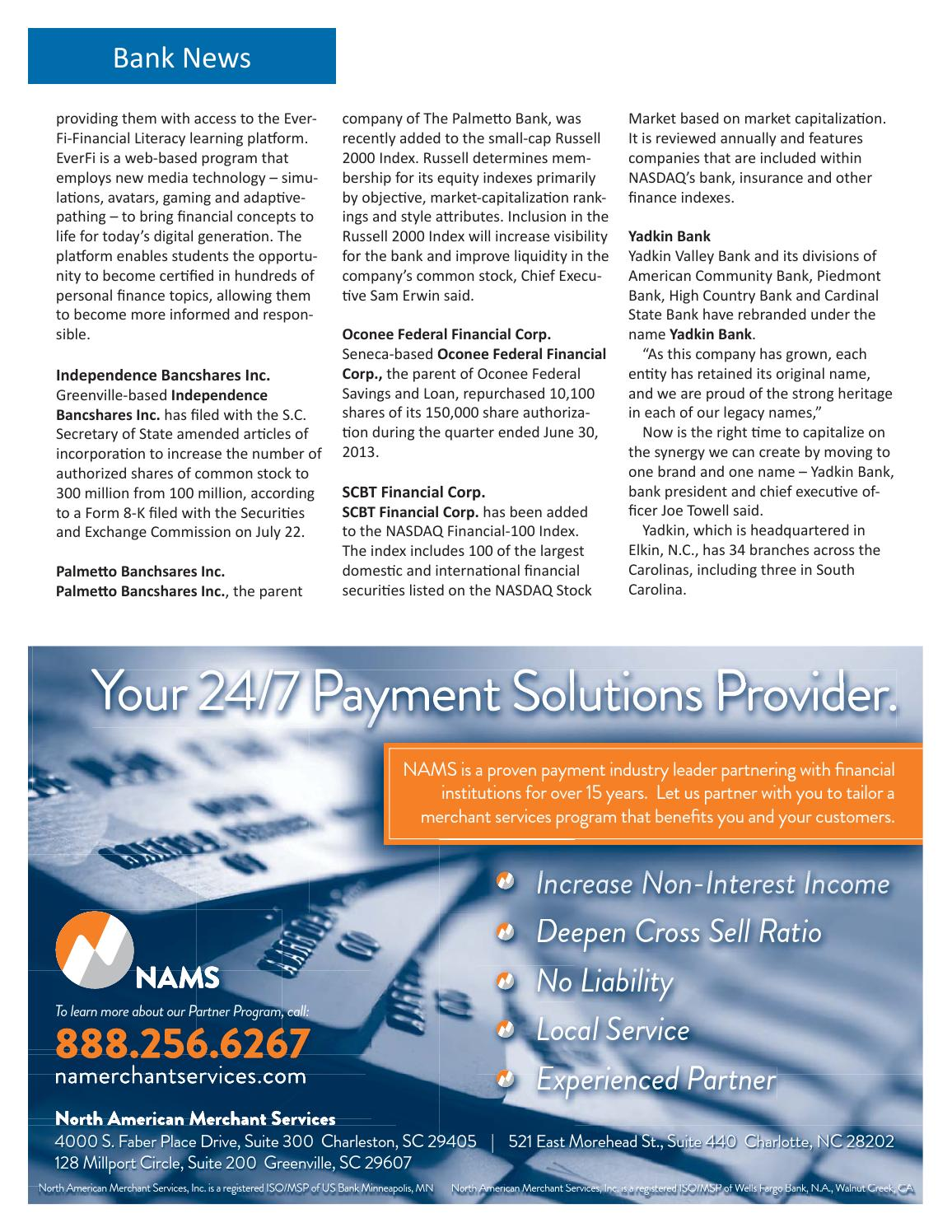 Palmetto Banker Fall 2013 by SCBA - issuu