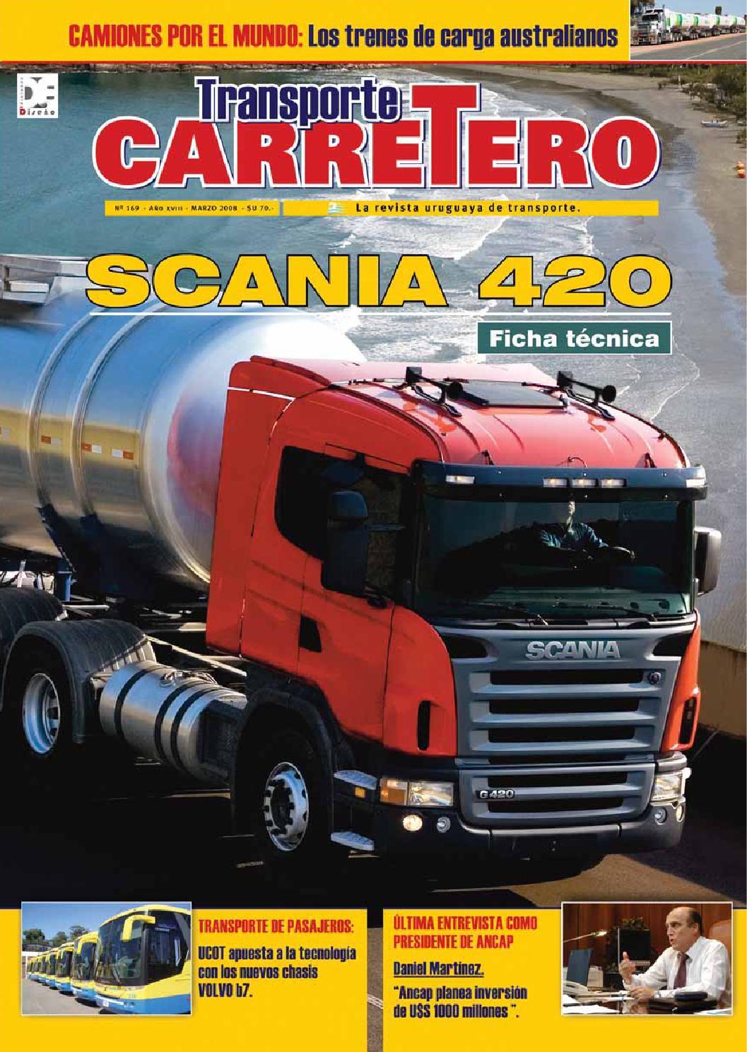 Transporte Carretero Nº 169 - marzo 2008 by Diseño Producciones - issuu