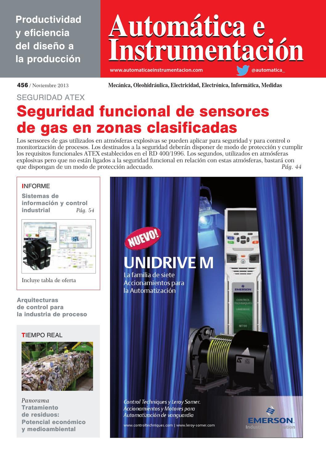 Automática e Instrumentación - nº 456 by Digital Newspapers S.L. - issuu