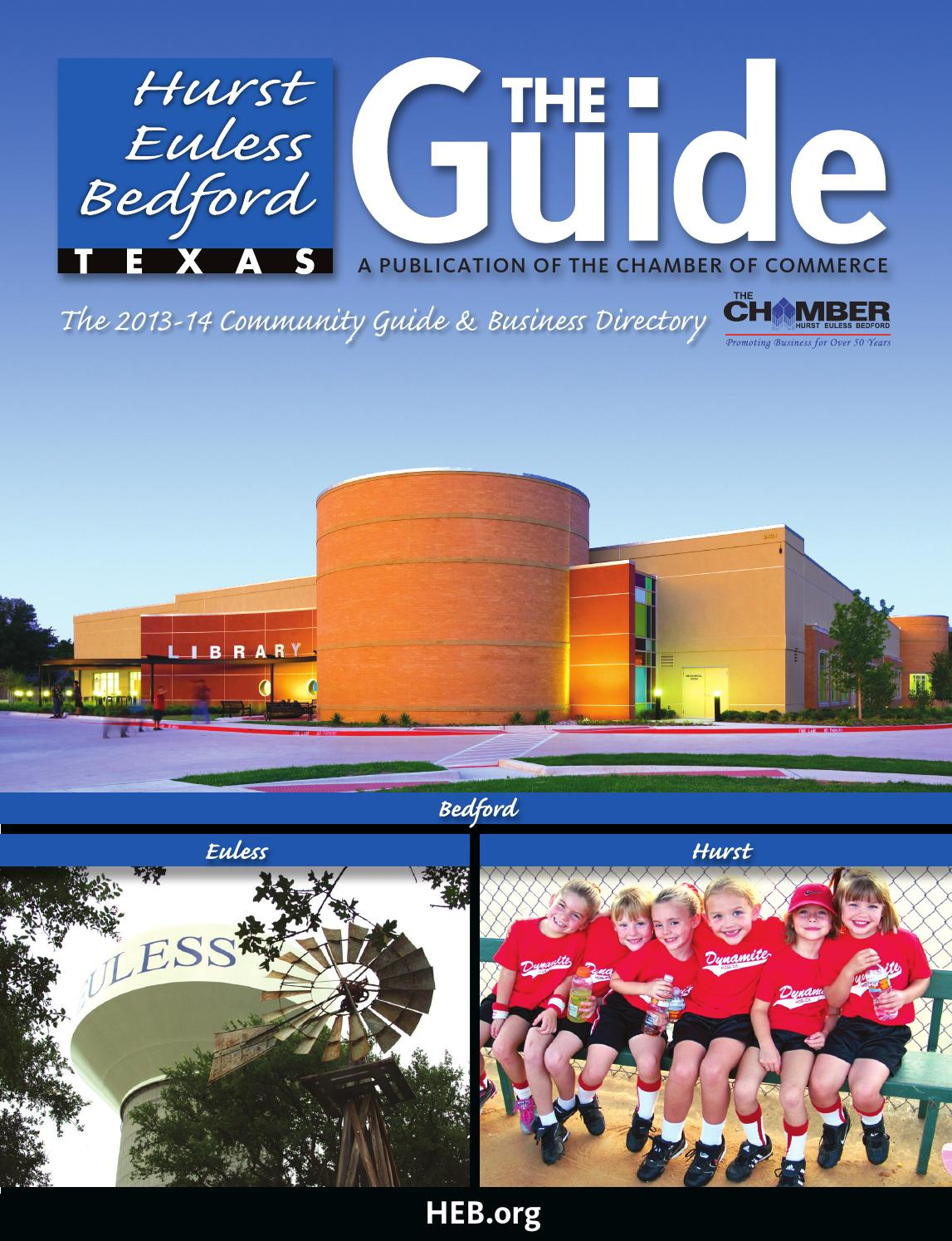 Hurst Euless Bedford TX The Guide by Chamber Marketing Partners, Inc. -  issuu