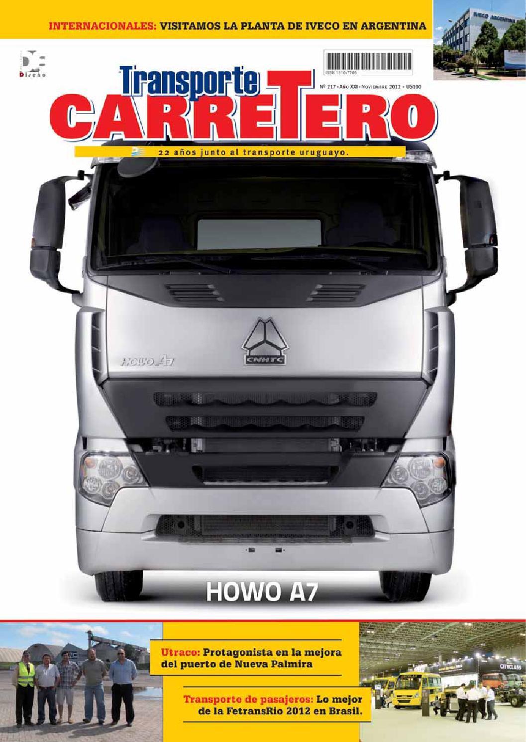 Transporte Carretero N 217 Noviembre 2012 By Dise O  # Tauron Muebles Mercadolibre