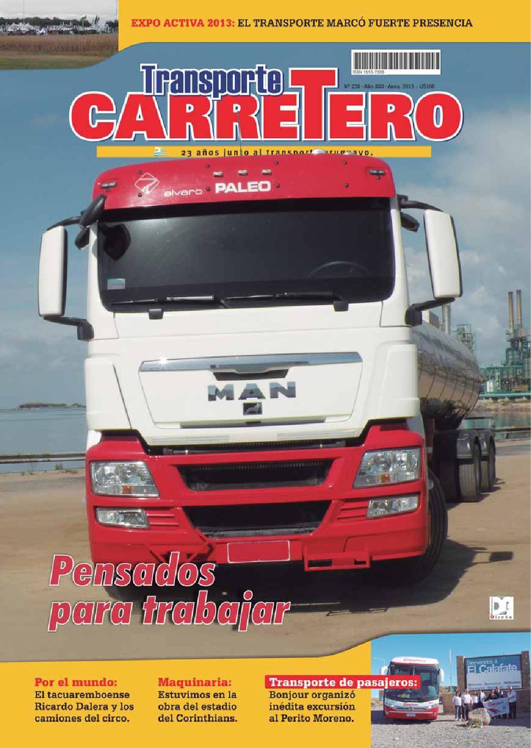 Transporte Carretero Nº 220 - abril 2013 by Diseño Producciones - issuu