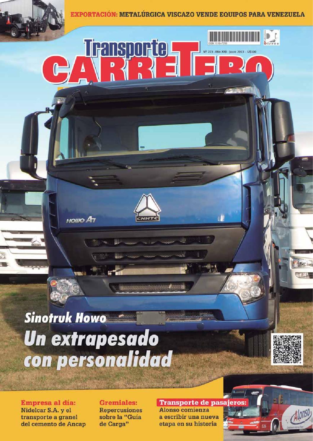 Transporte Carretero Nº 223 - julio 2013 by Diseño Producciones - issuu