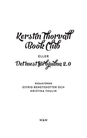 kerstin thorvall book club