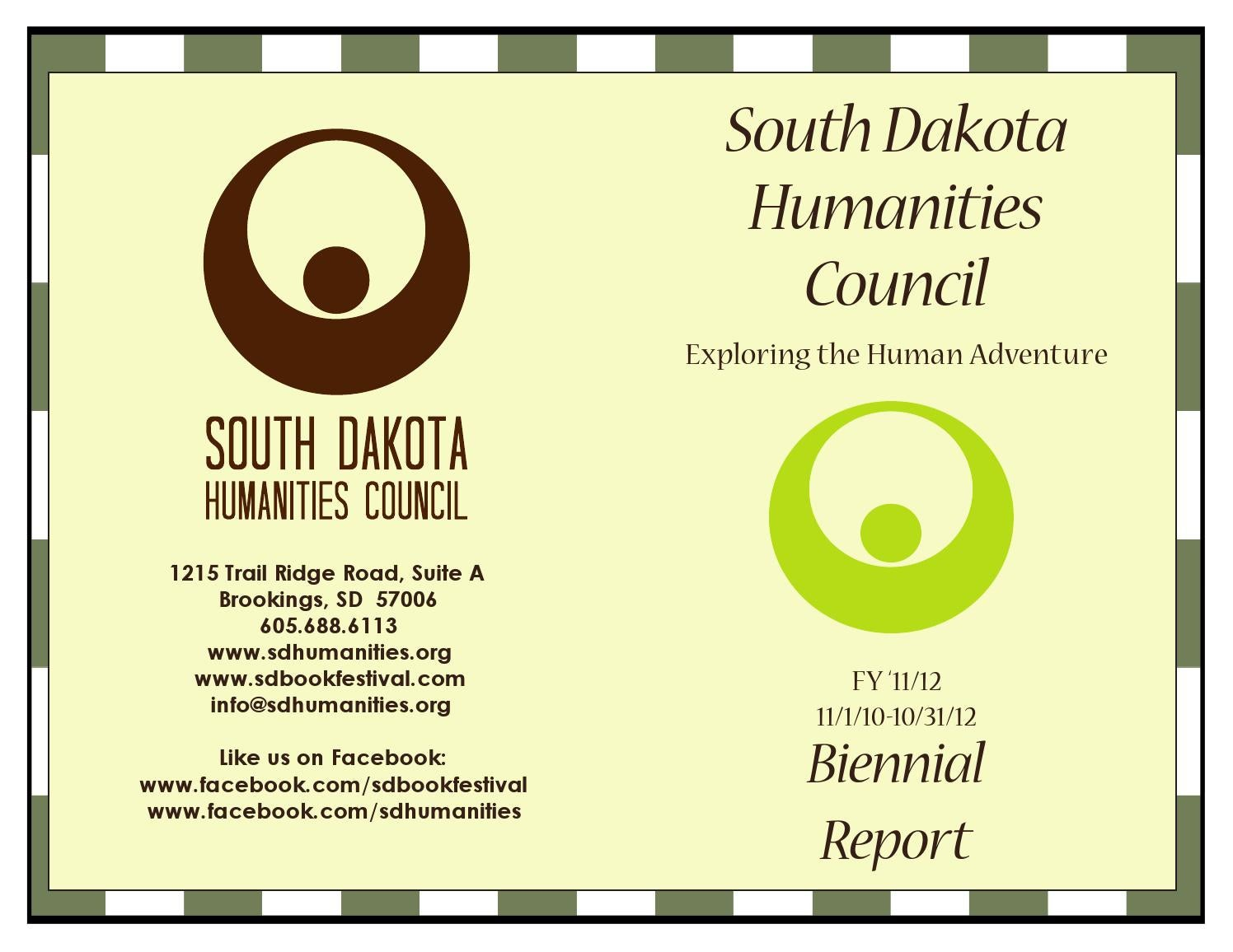 South dakota meade county howes - 2011 2012 Sdhc Biennial Report By South Dakota Humanities Council Issuu