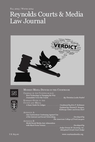Jury Instructions For The Modern Age By Reynolds National Center For