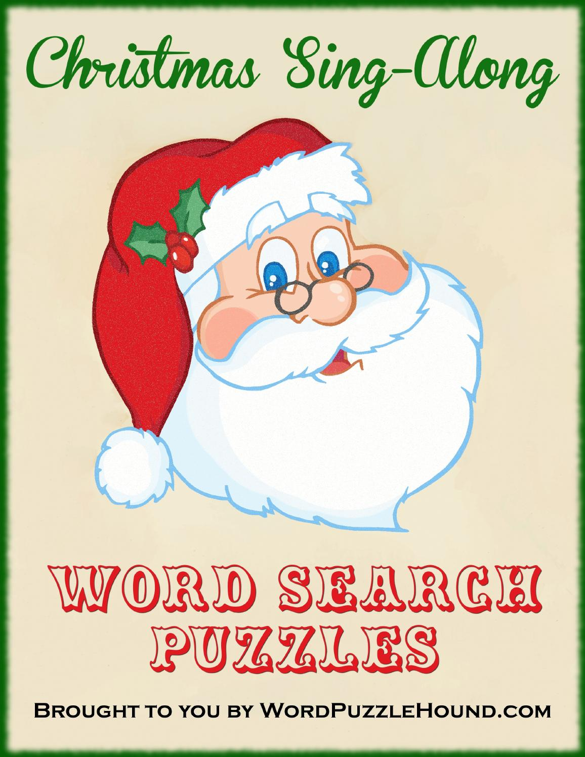 Christmas Songs Word Search Puzzles by WordPuzzleHound - issuu