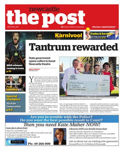 Newcastle Post 111213 by Post Newspapers - issuu