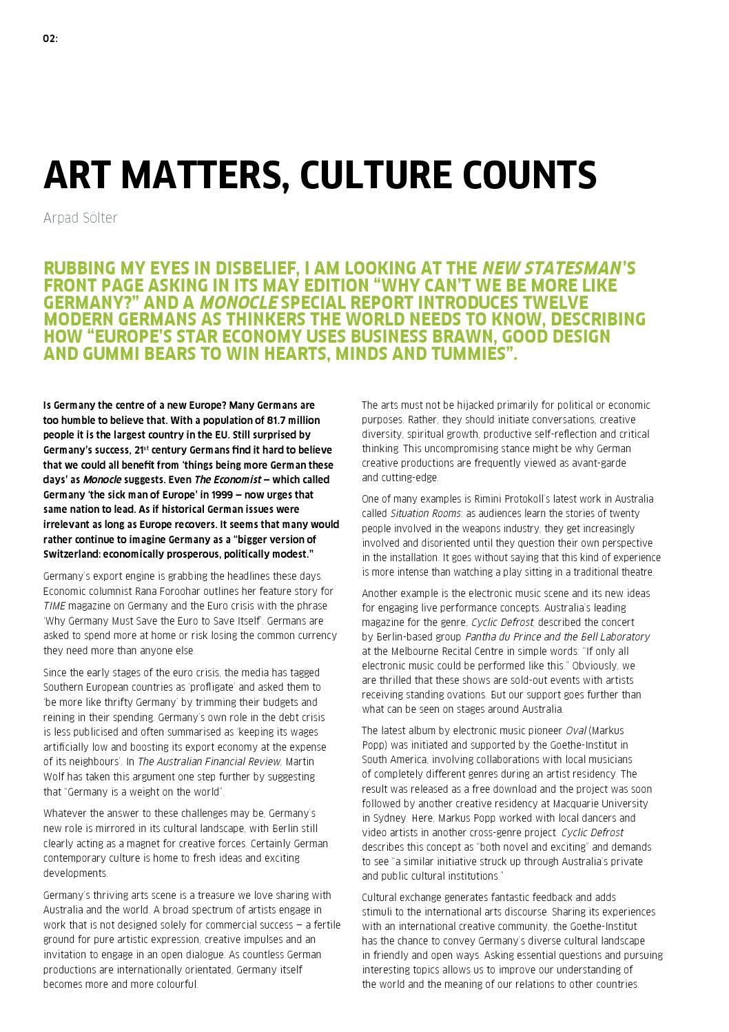 Kultur Magazine 24: 2013 by Goethe-Institut Australia - issuu
