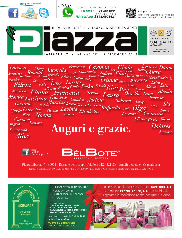 4852dc5b07 QuindicinaleOnLine460 by la Piazza srl - issuu