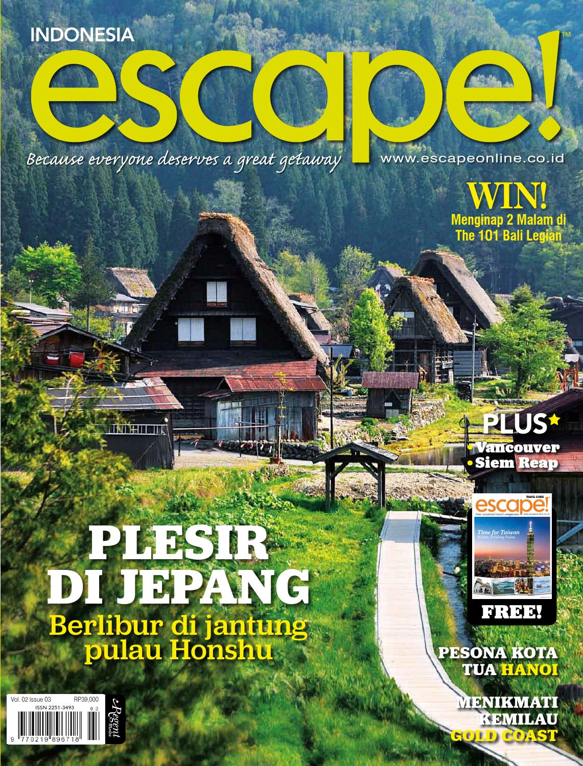 Escape Indonesia 2013 Sep Nov By Regent Media Pte Ltd Issuu