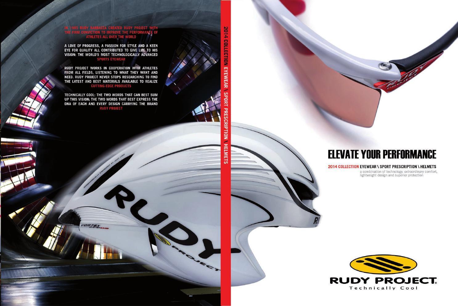 Rudy Project 2014 Eyewear, Sport Prescription, Helmets Catalog - English Edition by Rudy Project - issuu