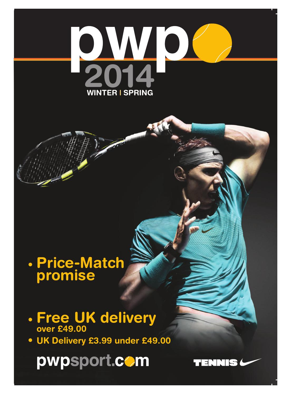 PWP SPORT CATALOGUE by PWP Tennis - issuu