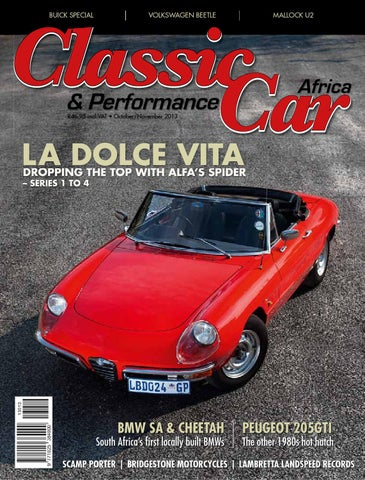 Classic & Performance Car Africa Dec/Jan 2013/14 by classic