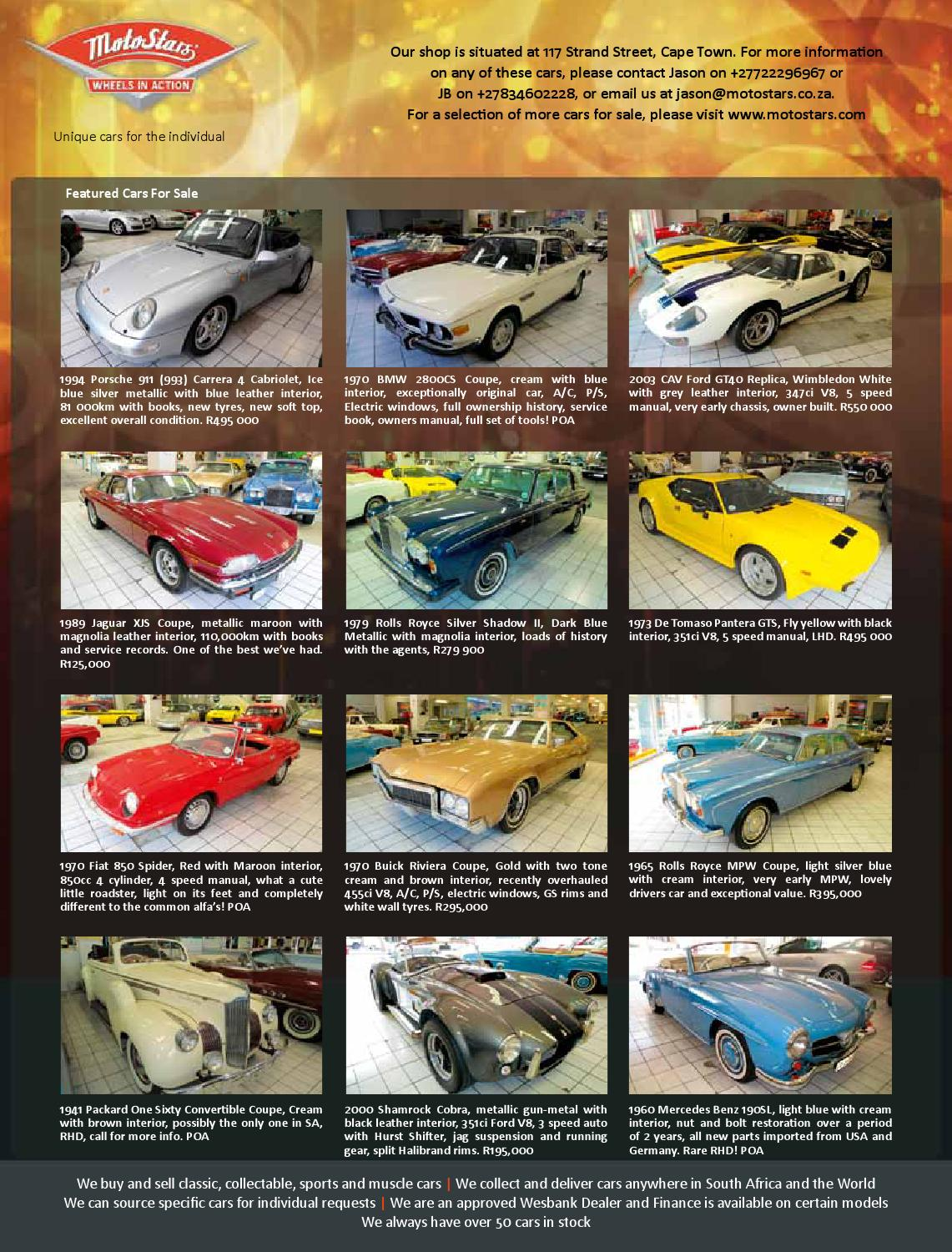Classic & Performance Car Africa Dec/Jan 2013/14 by classic ...