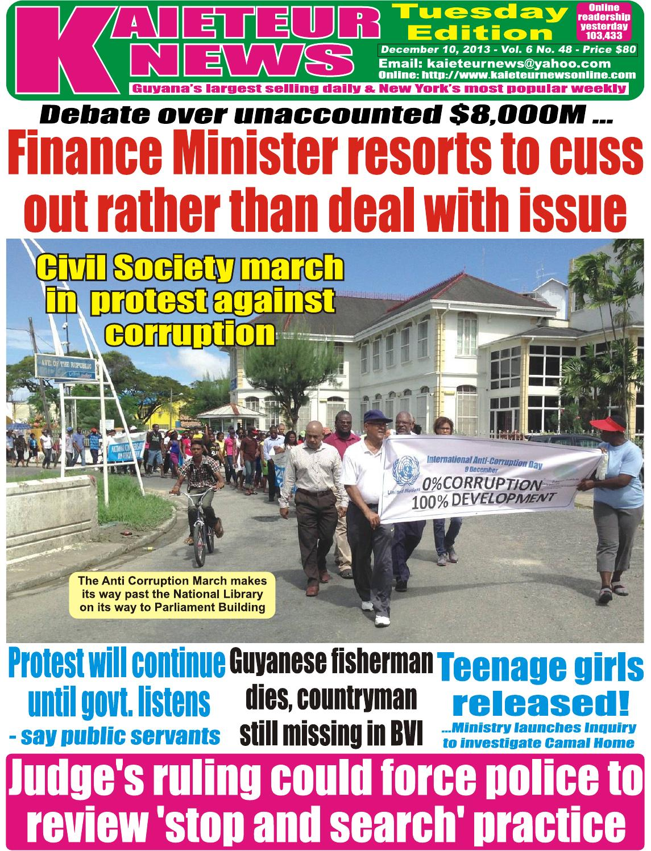 Kaieteur News By Gxmedia Issuu Holder Handle Under Raiser Bawah Beat Street
