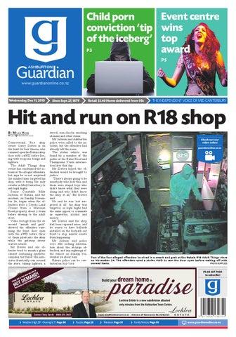 Ag 11 December 2013 By Ashburton Guardian