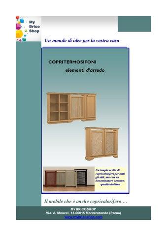 Copritermosifoni In Legno By Mybricoshop Mybricoshop Issuu