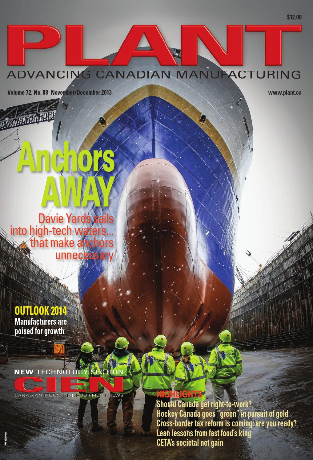 Plant November December 2013 By Annex Newcom Lp Issuu Circuit Breaker Lockout Csafe Fabtech Id Products