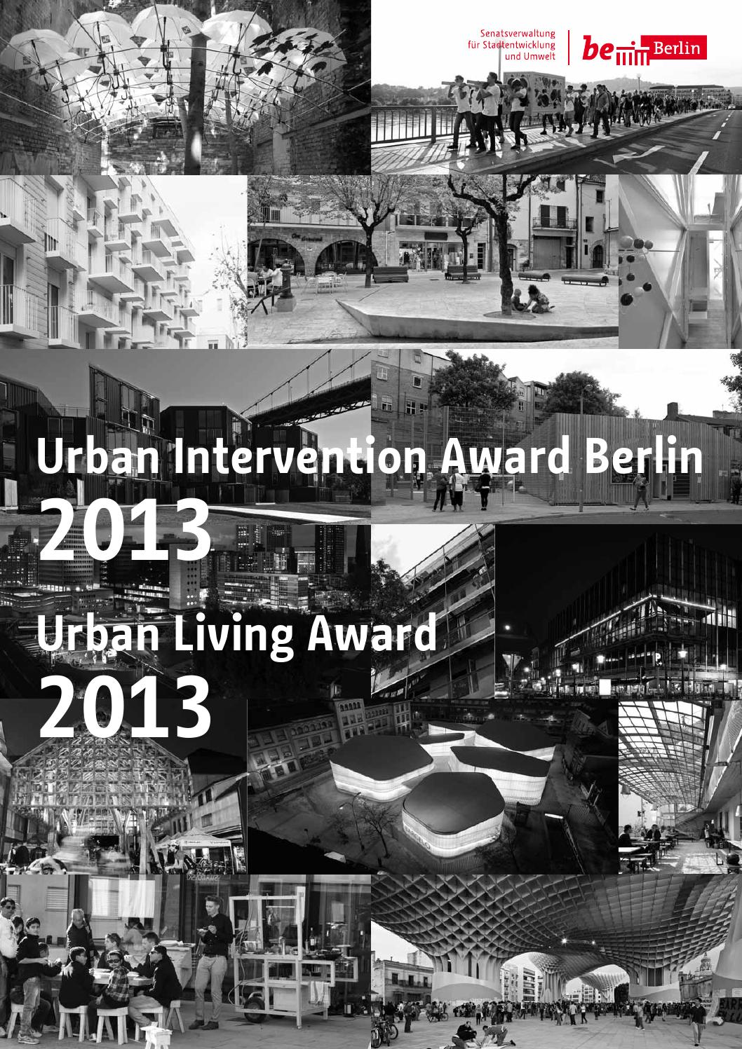 Urban Intervention Awards Berlin 2013 by 22001 - issuu