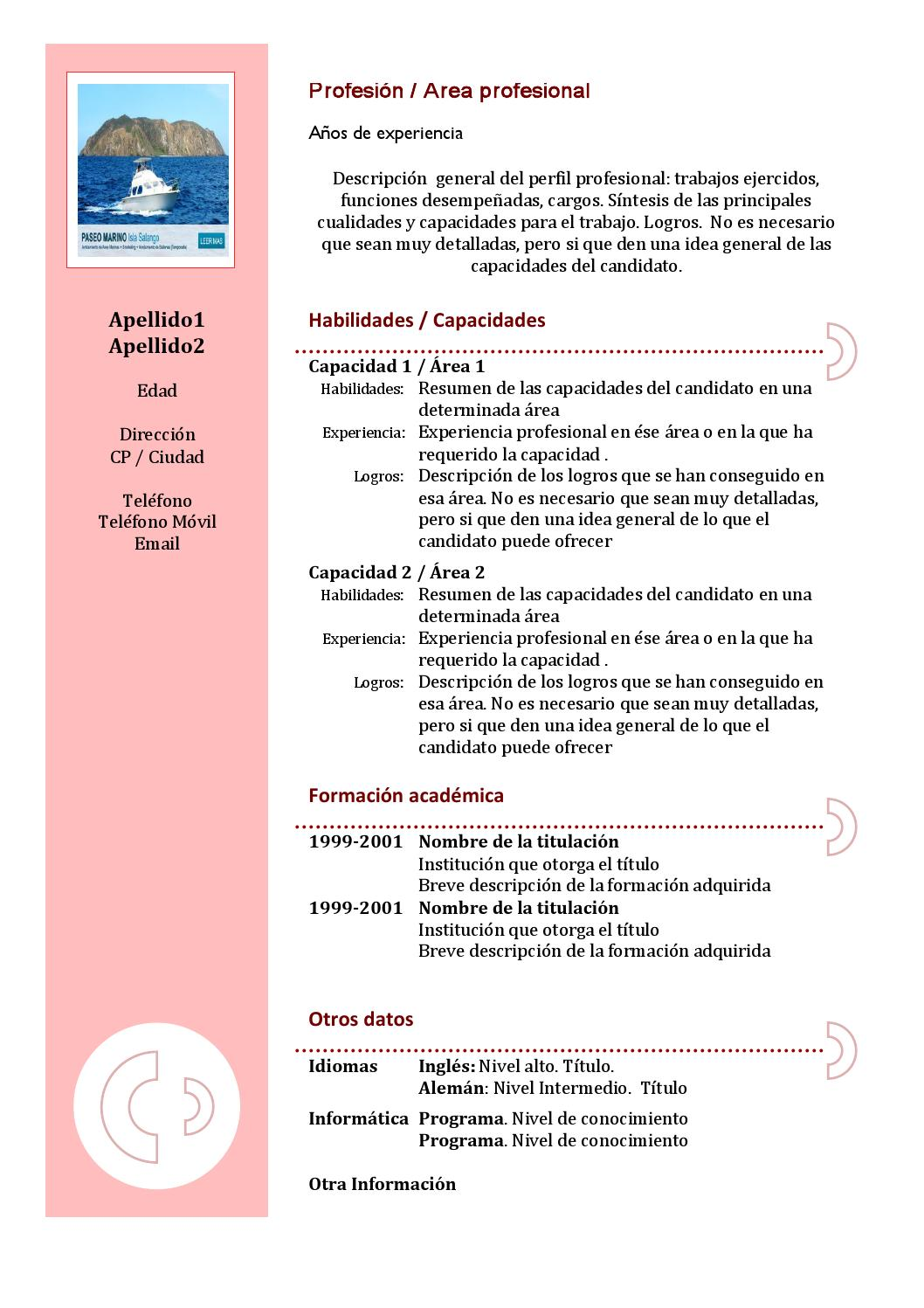 Curriculum vitae by Jean Pierre Villafuerte - issuu