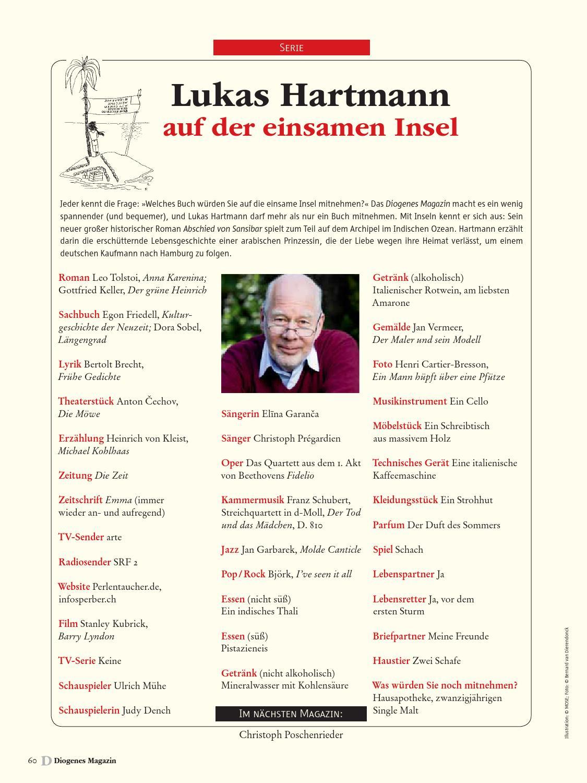 Diogenes Magazin Nr. 15 by diogenesverlag - issuu