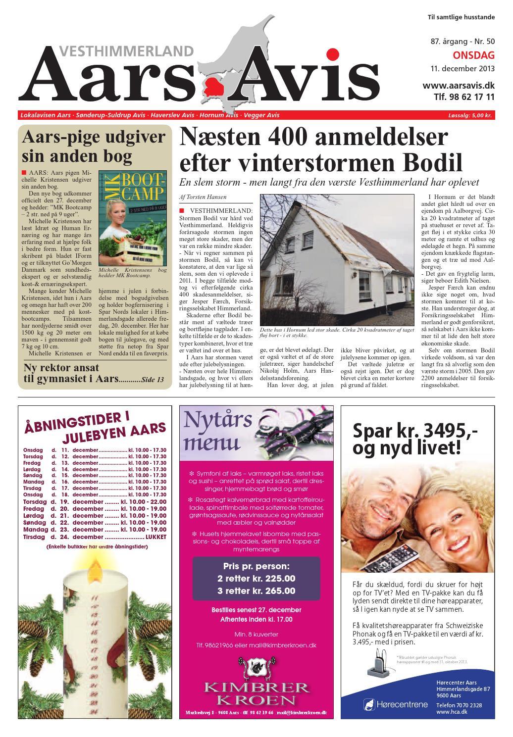 ca786230cd0 Aars avis 2013 12 11 by Aars Avis - issuu