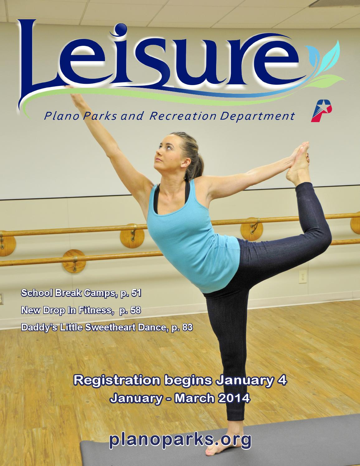 Plano Parks And Recreation Winter 2014 Leisure Catalog By Plano Parks And Recreation Issuu