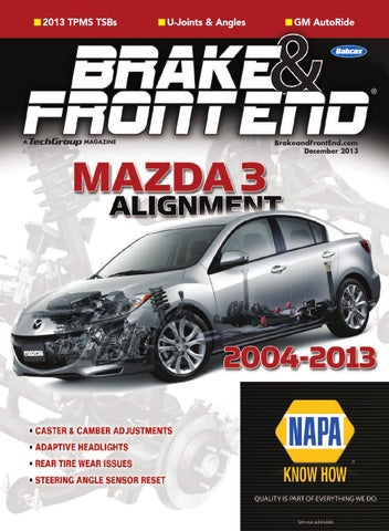 Brake & Front End, October 2013 by Babcox Media - issuu
