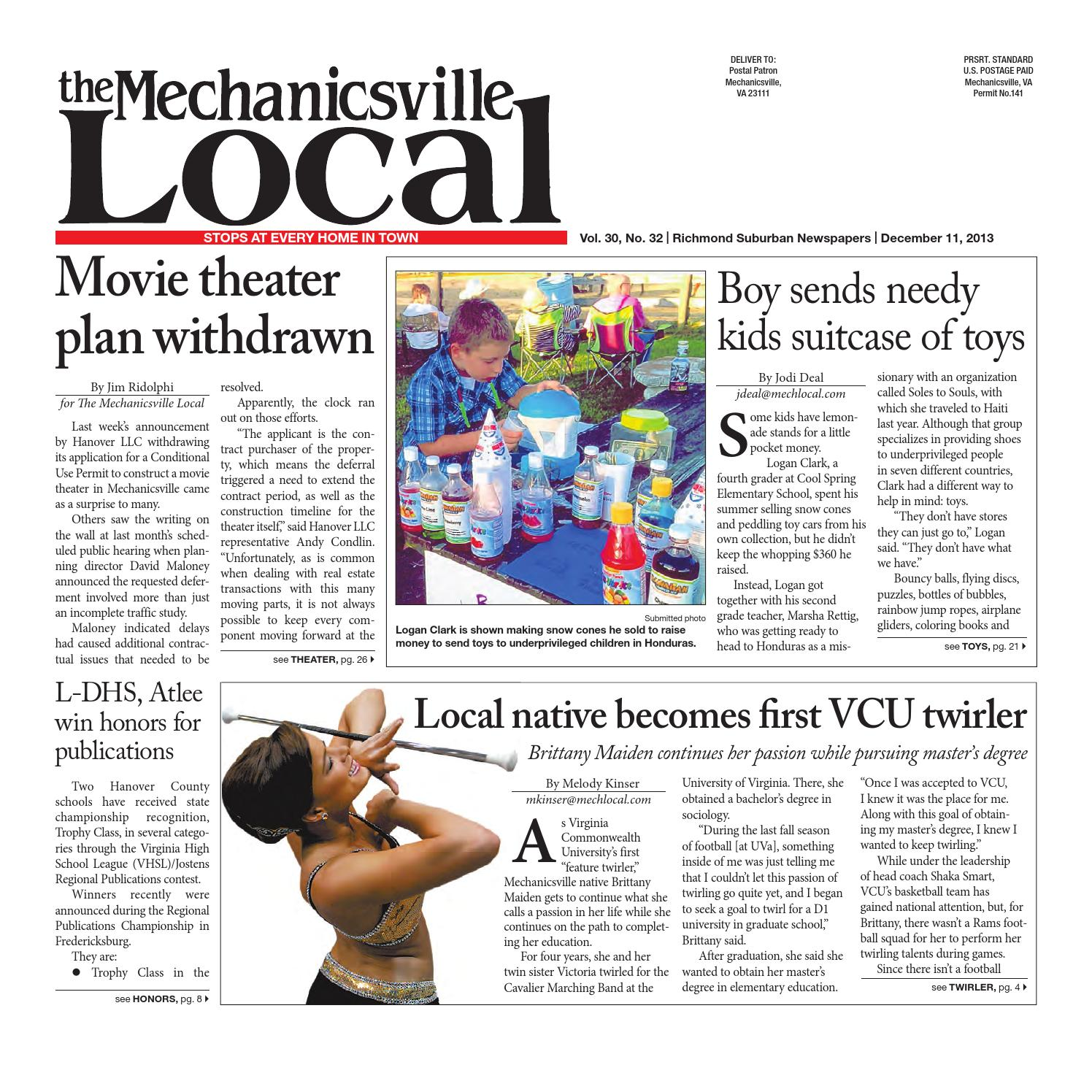 8a233b43 12/11/2013 by The Mechanicsville Local - issuu
