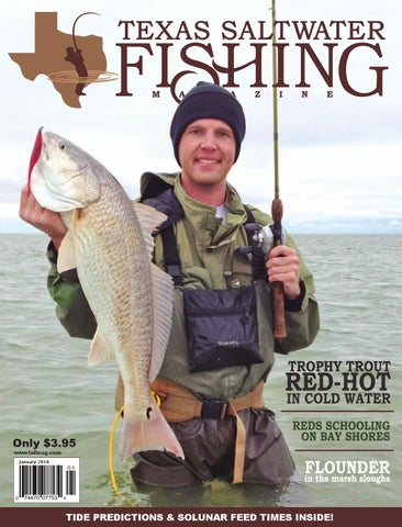 January 2014 by texas salwater fishing magazine issuu for Tides for fishing texas city
