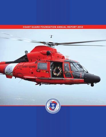 Coast Guard Foundation 2012 Annual Report by Coast Guard Foundation ... 1461a5905184