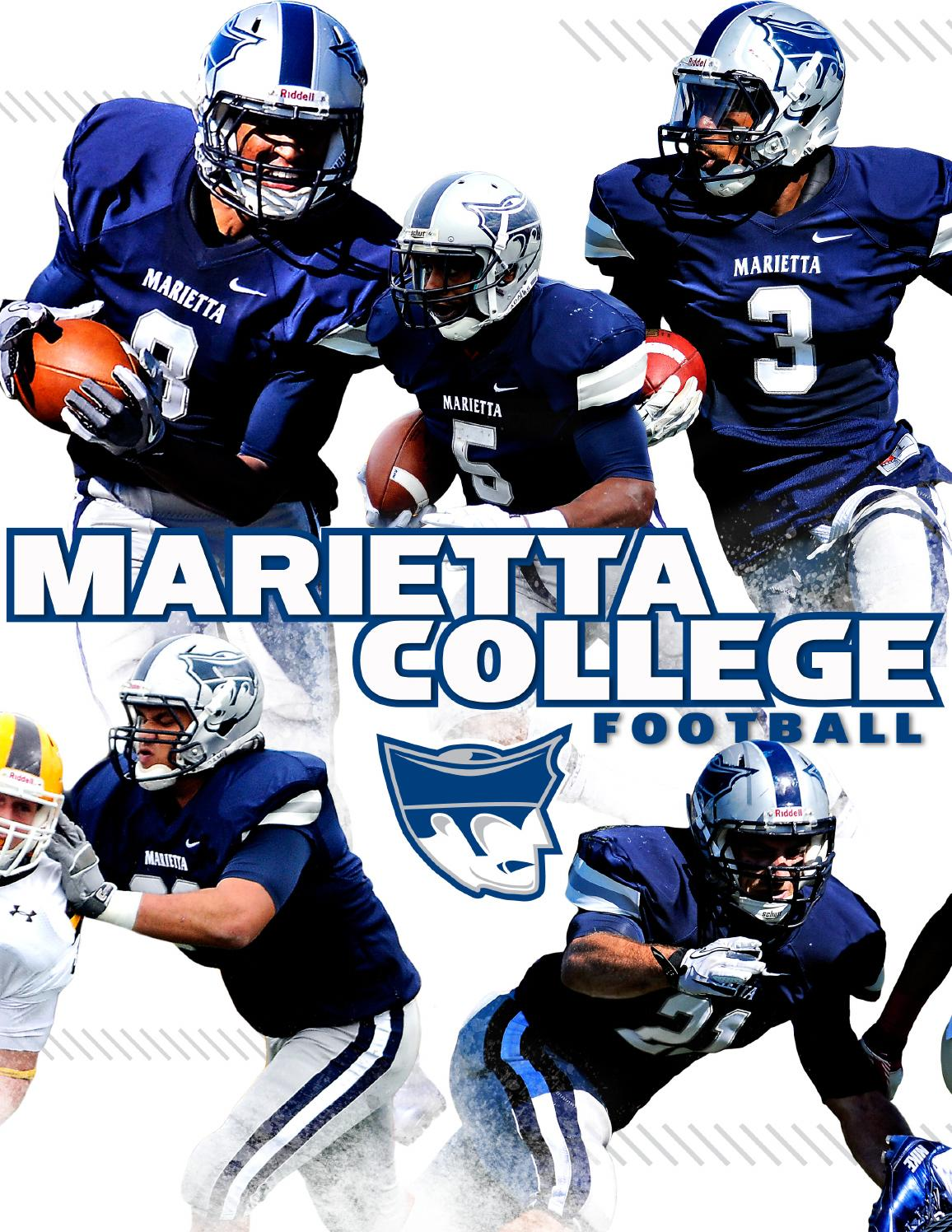 football recruiting brochure 2013 by marietta college. Black Bedroom Furniture Sets. Home Design Ideas