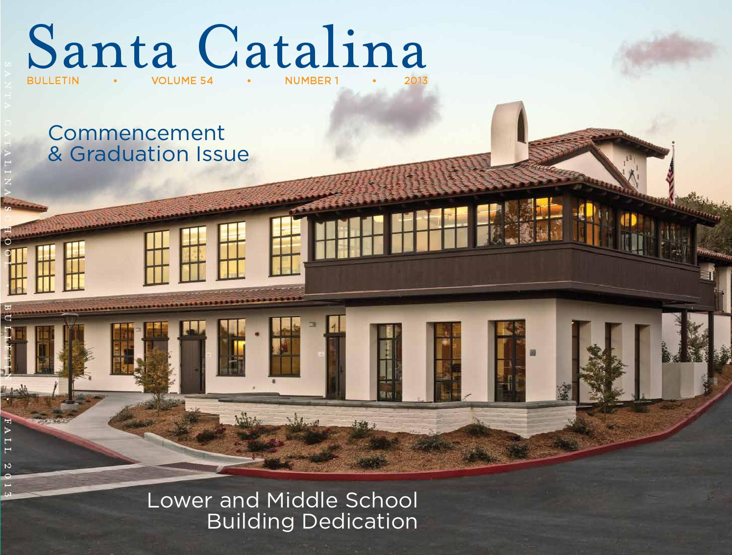 Santa Catalina School Fall Bulletin 2013 by santacatalina
