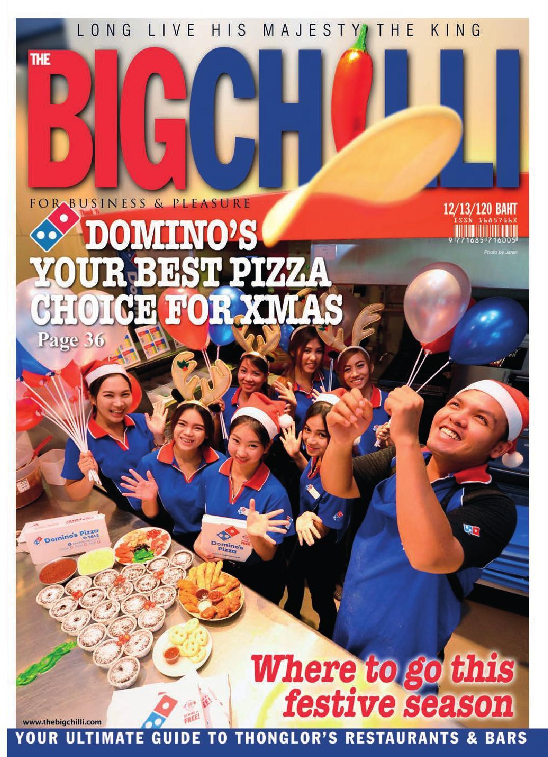 The Bangkok BigChilli  December 2013  by The BigChilli Co