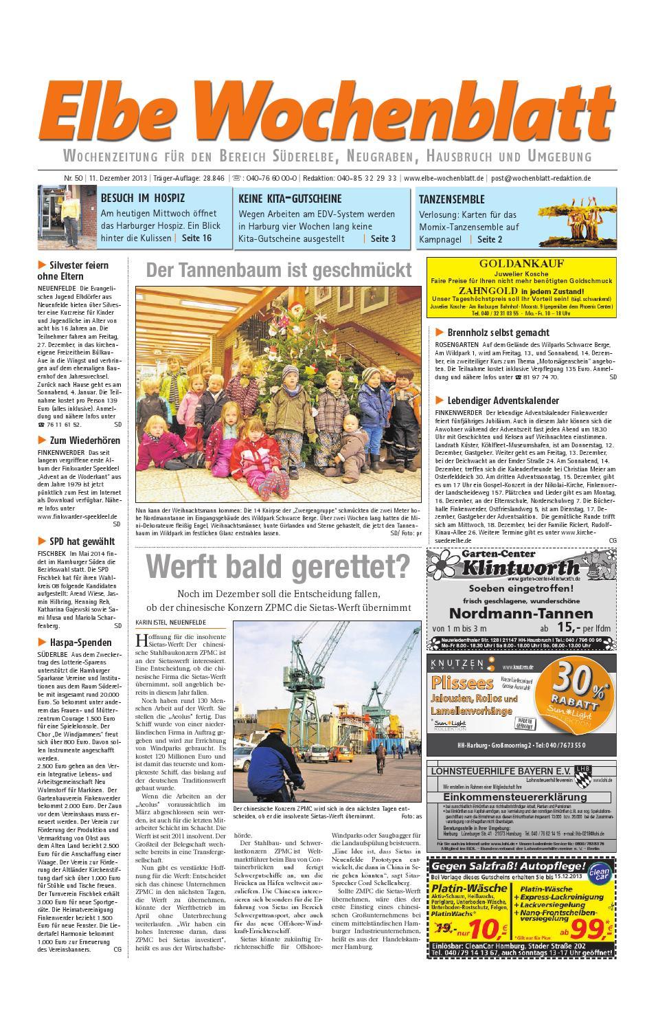 Süderelbe KW50-2013 by Elbe Wochenblatt Verlagsgesellschaft mbH & Co ...